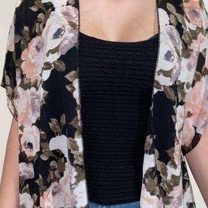 Live 4 Truth Floral Cardigan